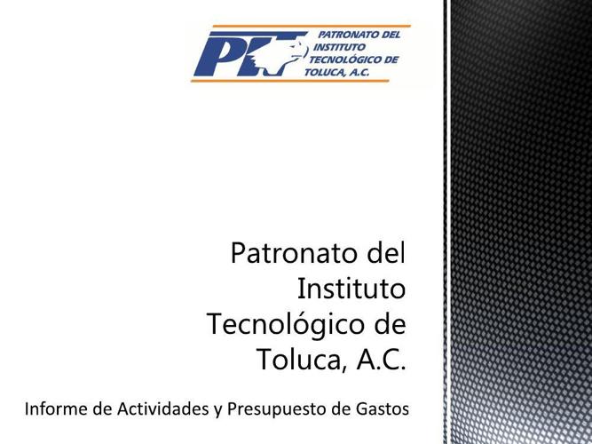 Patronato del Instituto Tecnológico de Toluca, A