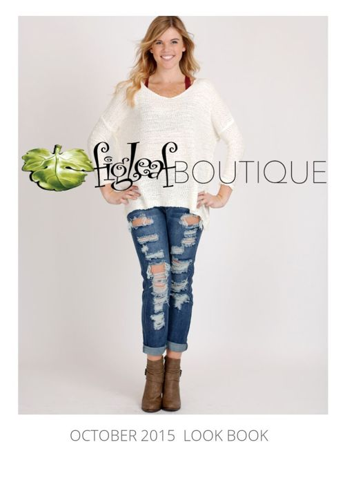 Figleaf Boutique October 2015 Look Book