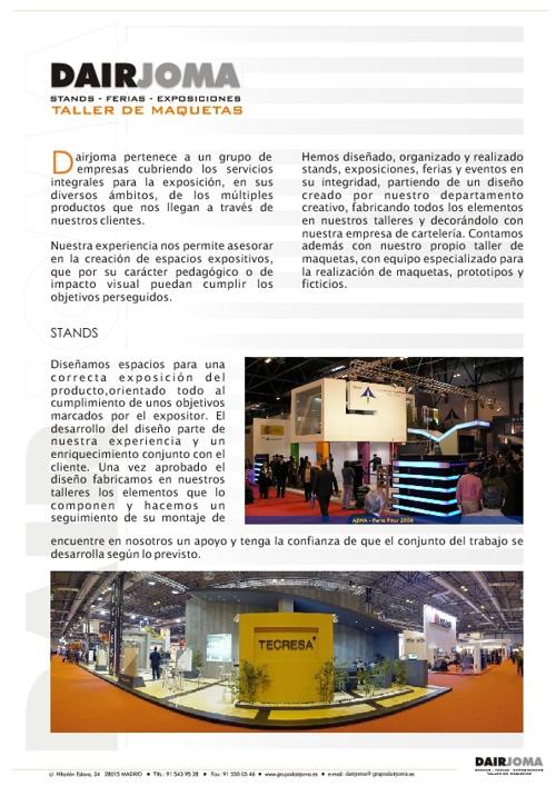 Ejemplos: Dairjoma · Expo