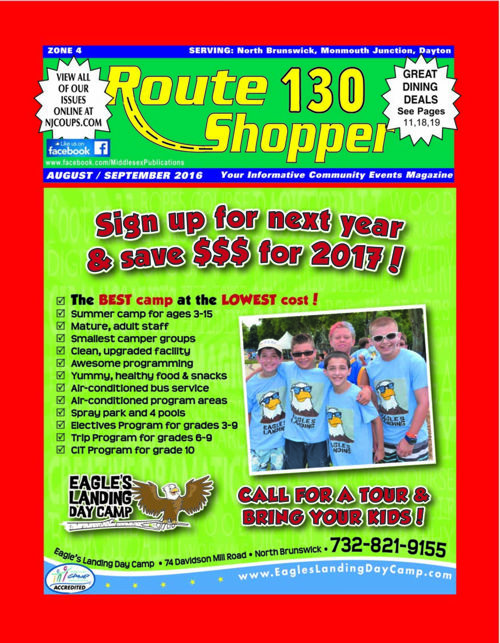 Route 130 Shopper - Aug. 2016