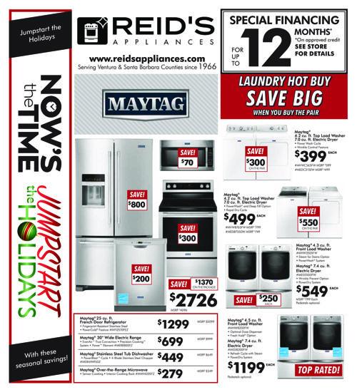 Reids Appliances Black Friday 2016