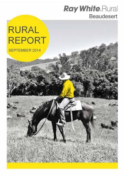 Ray White Rural Beaudesert Rural Property Report Sept 2014
