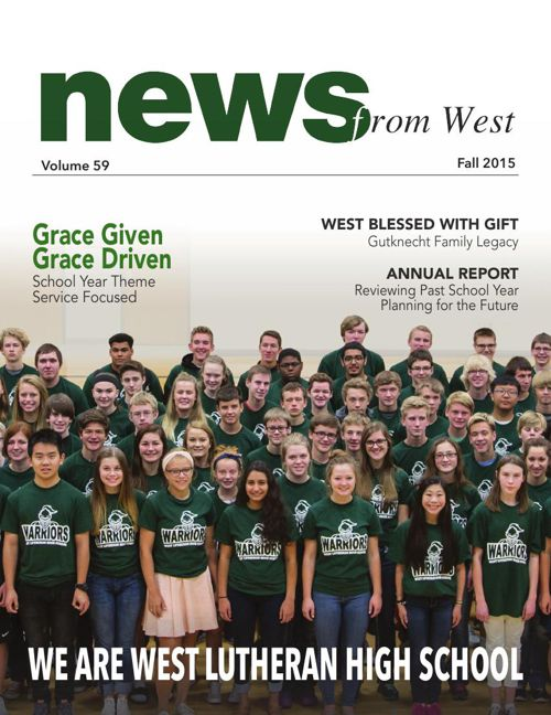 2015 Fall News from West Newsletter