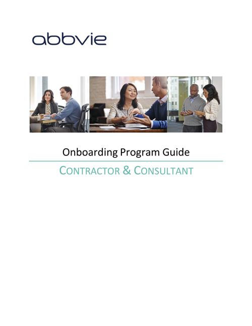 Onboarding Guide for Contractors