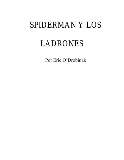 spanish proj spiderman 1