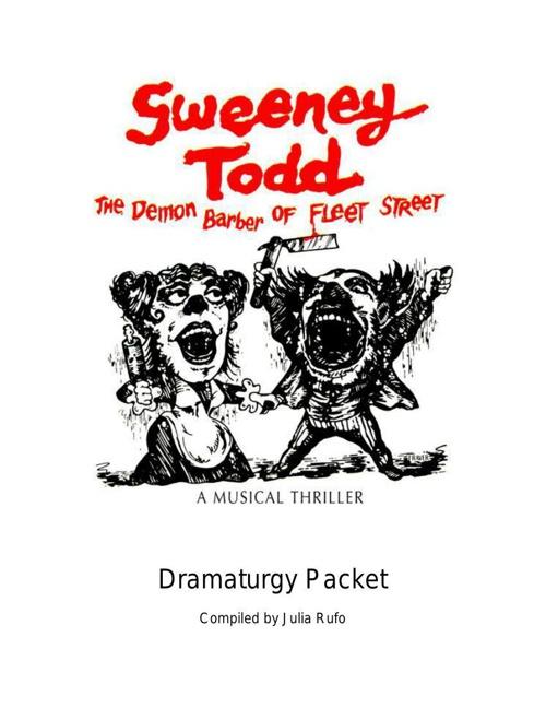 Sweeney Todd Dramaturgy
