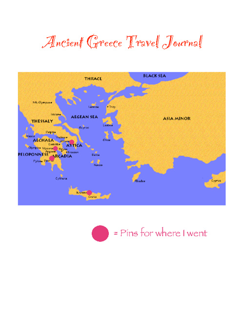 Greece Travel Journal!
