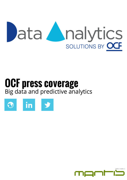 OCF big data analytics highlights