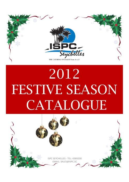 ISPC Christmas Brochure 2012
