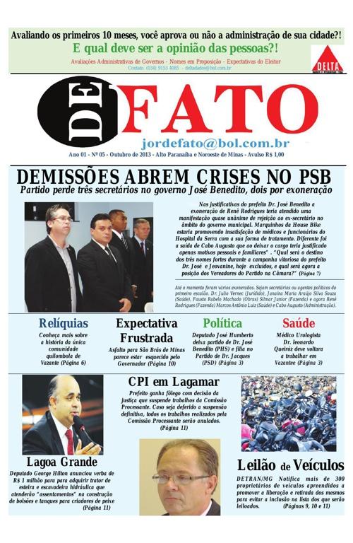 Jornal De Fato 05ª Edição