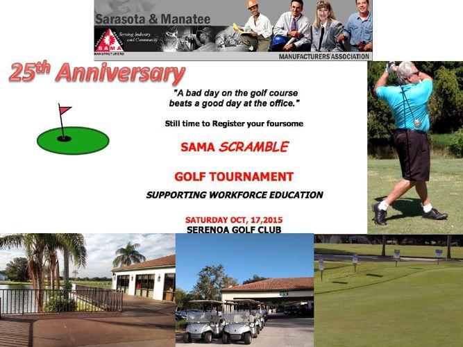 SAMA Golf Scramble 25th Anniversary 2015