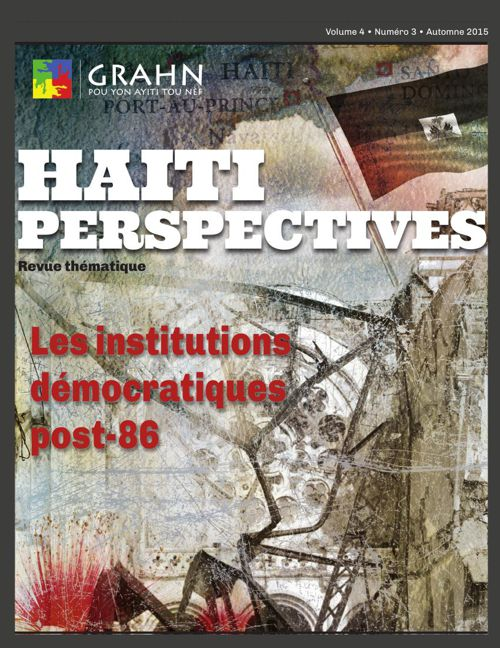 Haiti Perspectives Vol 4 No 3