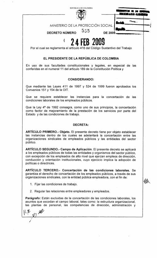 decreto de proteccion social