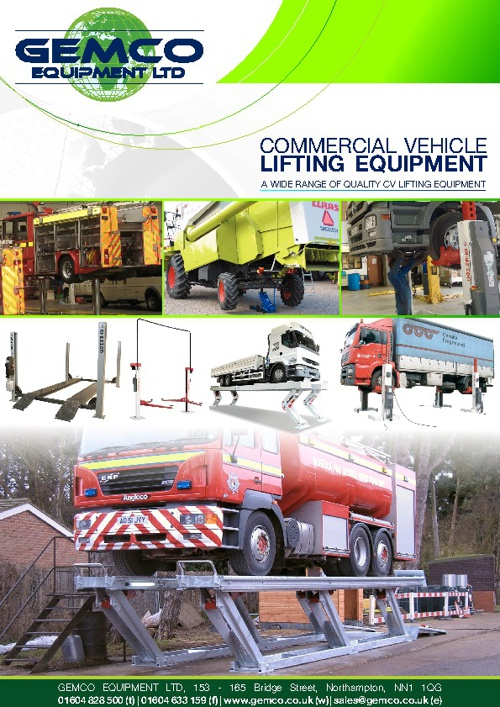 GEMCO commercial vehicle lifts