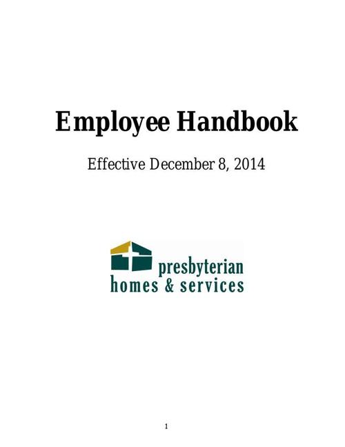 PHS Employee Handbook