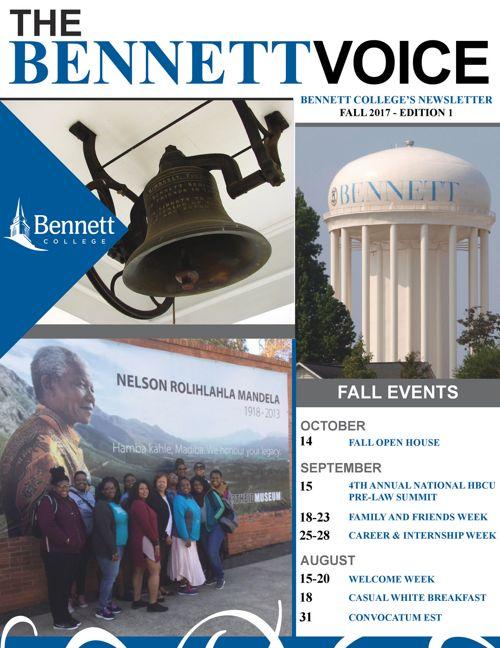 The Bennett Voice - Fall 2017