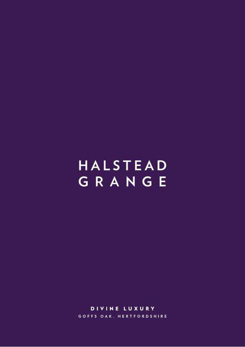 Halstead Grange HOST brochure