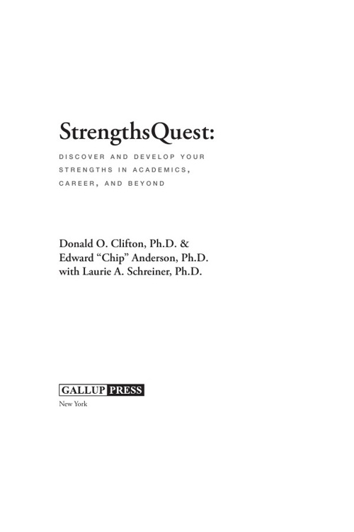 Strengths Finder Text (Gallup Press)