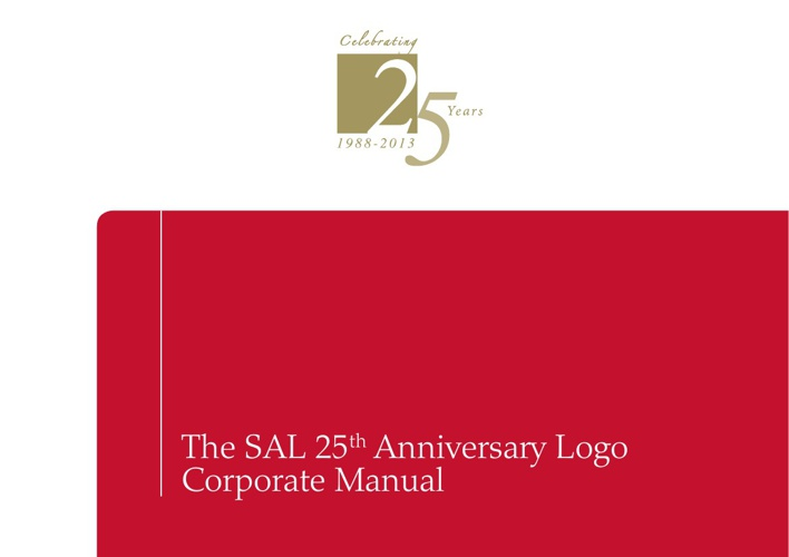 25th Logo CI