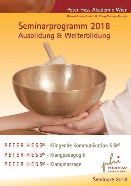 Seminarprogramm 2018 Peter Hess Akademie Wien