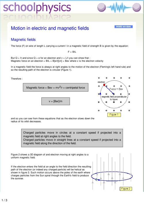 Physics - Magnetism