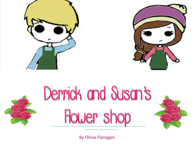 Integers-Derrick and Susan's flower shop
