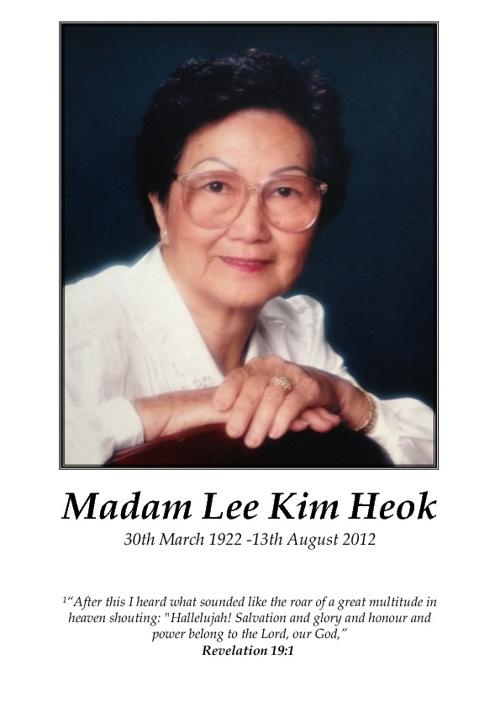 Kim Heok Lee