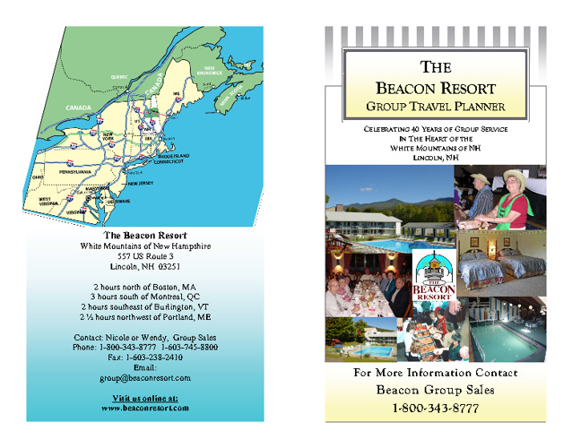Beacon Resort Group Tour Planner 2012-2013