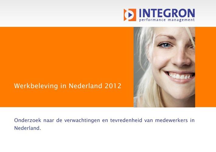 werkbeleving in nl 2012