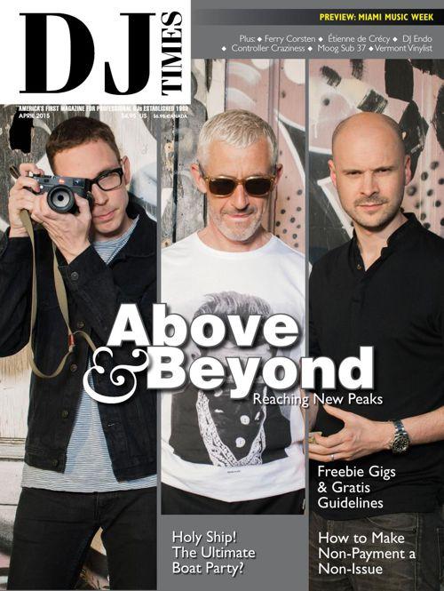 Etienne de Crecy for DJ Times Magazine April 2015 Issue