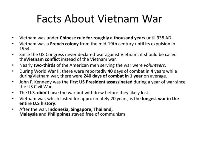 Vietnam War Facts devansh