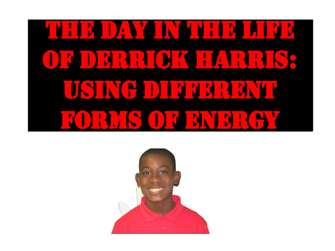 The Day in the Life of Derrick Harris, Jr