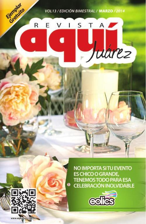 Edición 13 Enero /  Revista Aquí Juárez