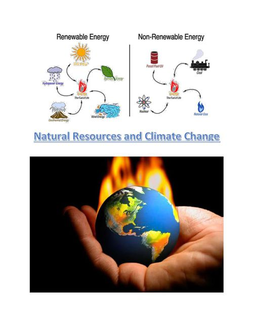 Natural Resources and Climate Change
