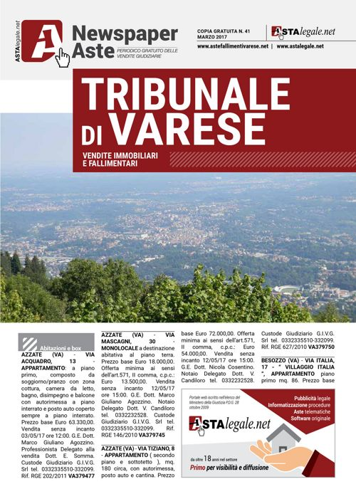 Varese marzo 2017