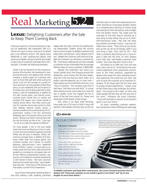 The Lexus Company