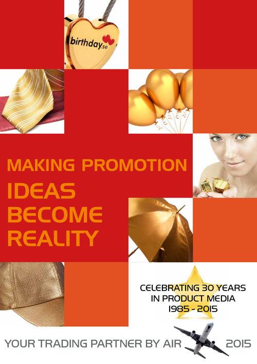 291 Keback - Promotionartikler - produceres i en uendelighed eft