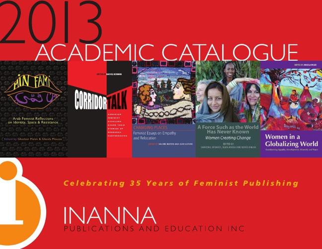 Inanna - 2013 Academic Catalogue