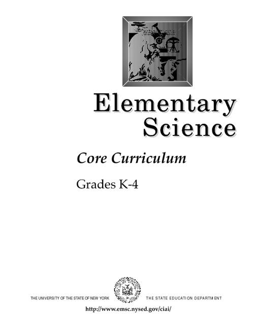 K-4 Science