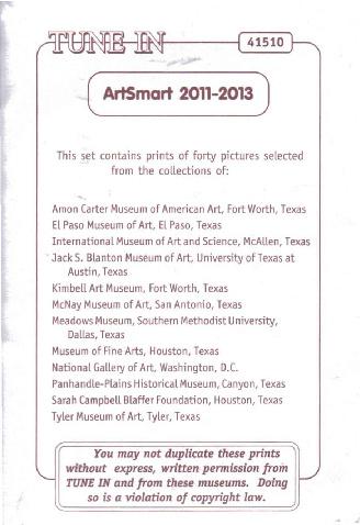 Art Memory 2012