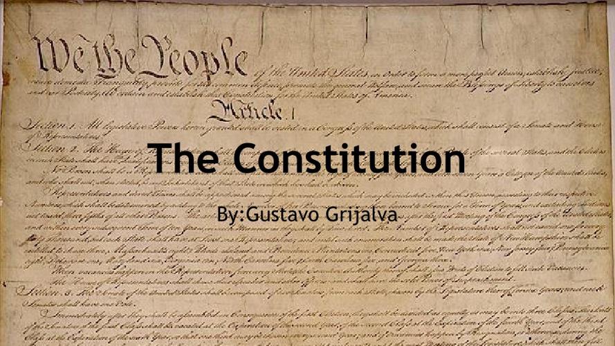 Gustavo Constitution book