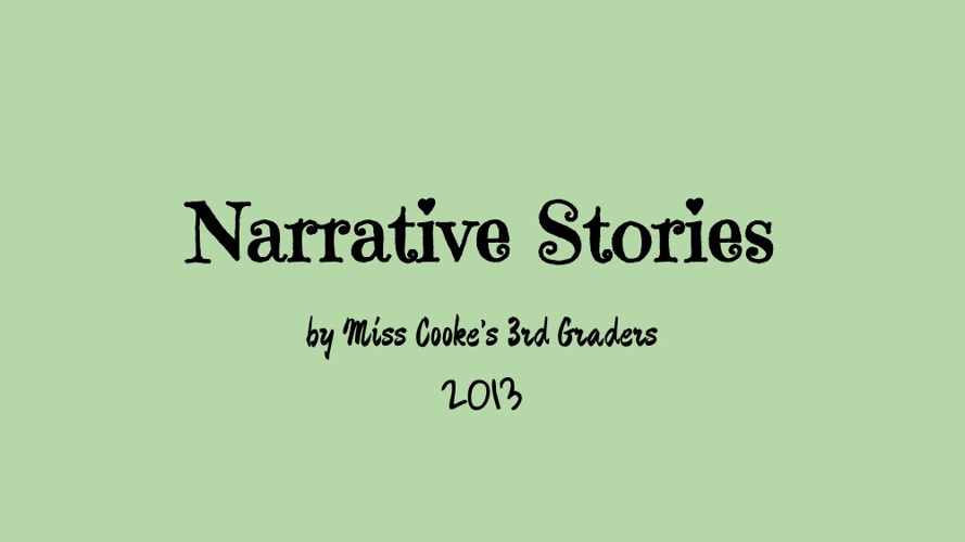 Narrative Writing Book 2