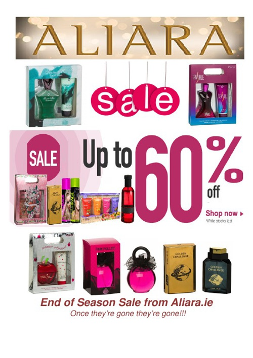 Aliara End of Season Sale