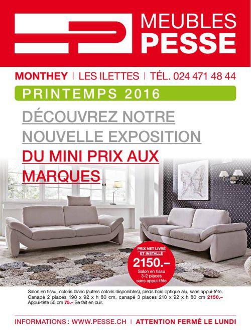Catalogue Pesse - Printemps 2016