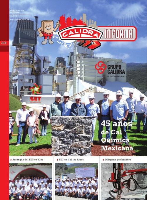 Calidra Informa / Diciembre 2012