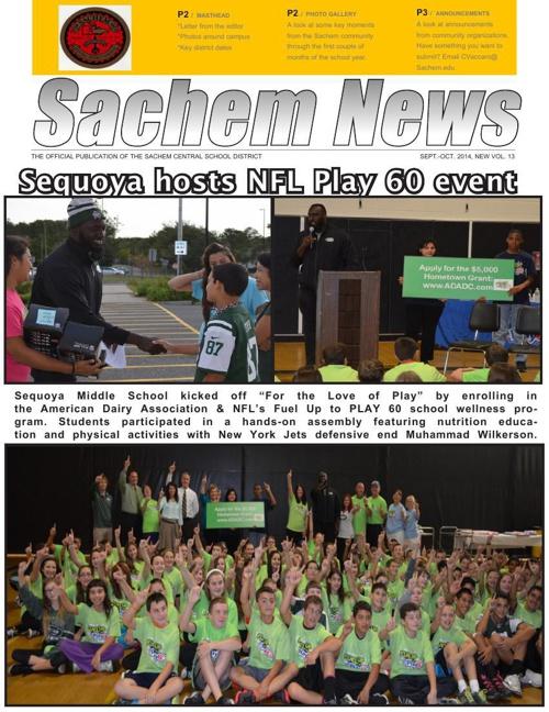 Sachem News, October 2014