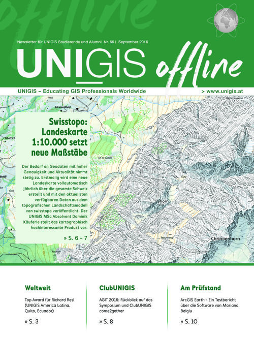 UNIGIS offline Nr. 66 | September 2016