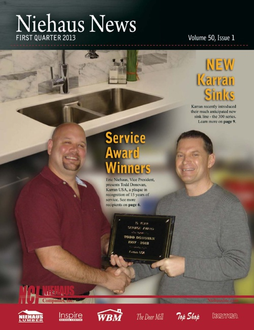 Niehaus Newsletter 1st Quarter 2013