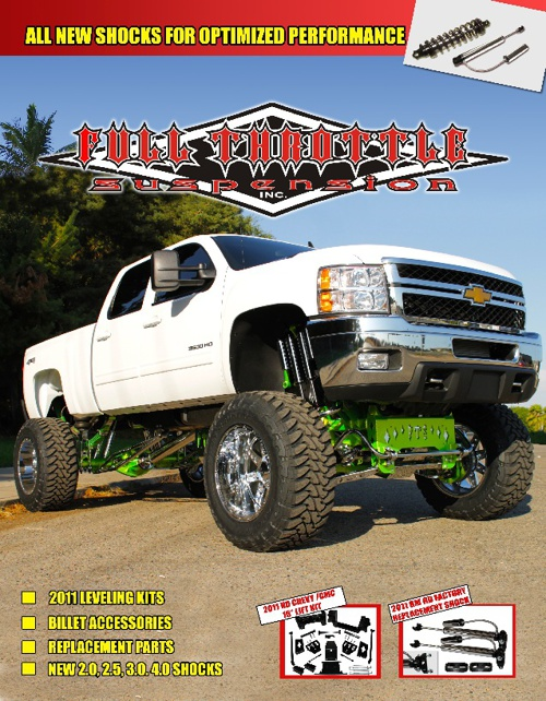 2011-2012 Full Throttle Suspension Catalog