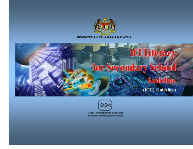 ICT Literacy for Secondary School Guideline